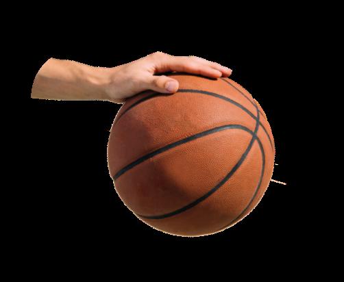 Basketbal hand